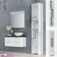 badezimmerschrank weiß hochglanz günstig kaufen ebay