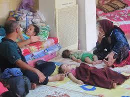 Iraqi Christian Refugees Rest At St JosephOs Church In Ankawa Iraq Aug 8
