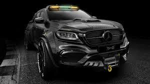 100 Mercedes Benz Pickup Truck The Monster X Is A 6x6 Carbon Fiber Maxim