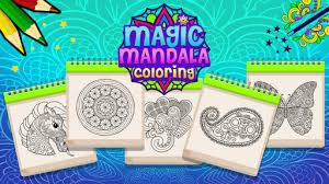 Magic Mandala Coloring Book Games Apk Free Download For Android PC Windows