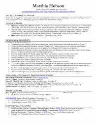 Desktop Support Technician Resume Examples New Of Resumes