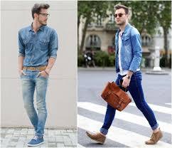 Denim Shirt Double For Men
