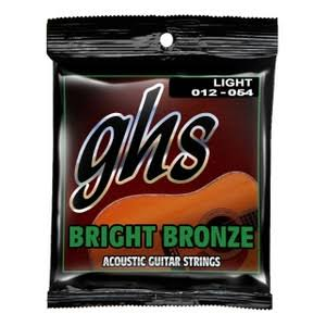 GHS Bright Bronze BB30L Acoustic Guitar Strings - 12-54 Light