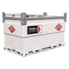 100 Diesel Fuel Tanks For Trucks TRANSCUBE White Rectangle Tank 552 Gal Capacity 11
