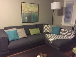 ikea nockeby sofa chaise plus footstool central saanich victoria