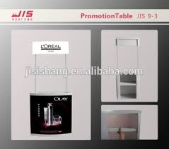 Hot Sale Promotion Table Dispaly Trade Show Exhibition Usage Plastic Counter Display