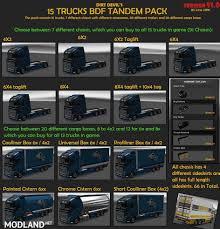 BDF Tandem Truck Pack V91.0 (1.31) Mod For ETS 2
