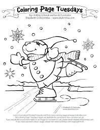 Free Coloring Pages For Toddlers Winter Color Page Printable January Book Kids Unicorn