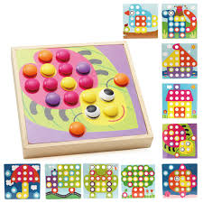 10 Pcs Set Designer Wooden Board Games For Children Baby Educational Creavite DIY Wood Mosaic Toys Brain Teaser DX36 In Puzzles From Hobbies On