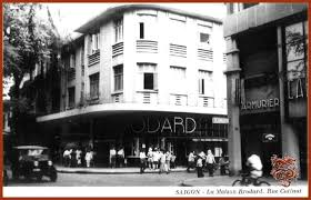 Top The Famous Brodard Cafe In 1950s Courtesy Of Saigon Vietnam