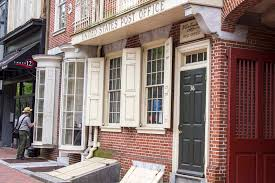 Ben Franklin Post fice Old City Philadelphia APG Living
