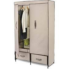 Wardrobe Closet W Drawers Doors Clothes Garment Fabric All That