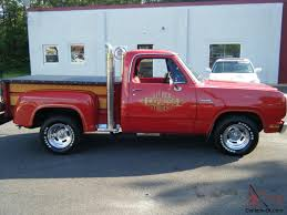 100 Little Red Express Truck For Sale 1979 Dodge Lil Pick Up D10