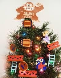 Retro Arcade Xmas Tree Toppers