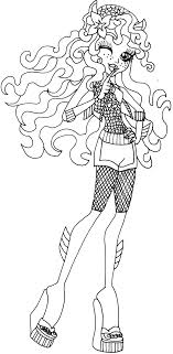 Stunning Monster High Ghoulia Coloring Pages Concerning Cool Article
