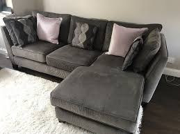 corduroy couch dfs 4 seater corduroy sofa in ingol lancashire