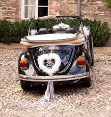 comment décorer la voiture des mariées boutique magique