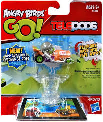 Angry Birds GO Telepods Kart Green Pig With HELMET