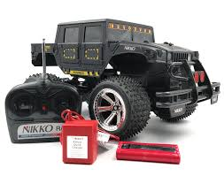 100 Hummer H1 Truck Nikko 110 Scale Hard Body RC RC 96V Fully Tested