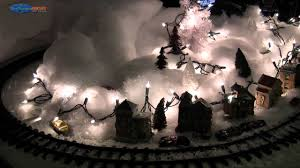Frosty Snowman Christmas Tree by Frosty The Snowman Express Train Simple Christmas Set Up Youtube