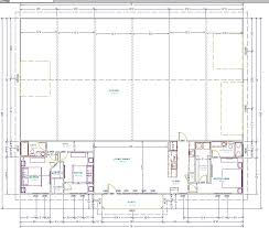 40x60 Shop House Floor Plans by Exterior Design Exciting Barndominium Floor Plans For Inspiring