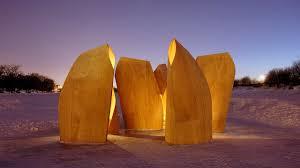 100 Patkau Architects Gallery Of Winnipeg Skating Shelters 1