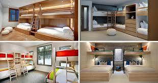 une chambre pour quatre aménager une chambre pour six personnes mission possible