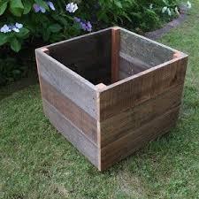 Diy Idea Wood Planters