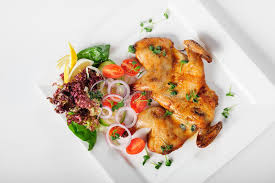 cuisine caucasienne poulet tabaka cuisine caucasienne image stock image du géorgien