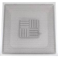 Drop Ceiling Air Vent Deflector by Speedi Grille 24 In X 24 In Drop Ceiling T Bar Perforated Face