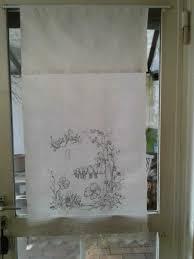 überhandtuch spruchtuch shabby landhaus gardine 1 15 x 0 60 m