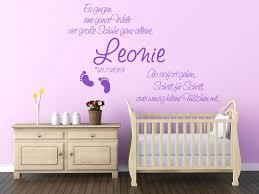 baby wandtattoos kleine füßchen mit namen homesticker de