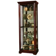Pulaski Oak Corner Curio Cabinet by Amazon Com Pulaski Two Way Sliding Door Curio 30 By 20 By 80