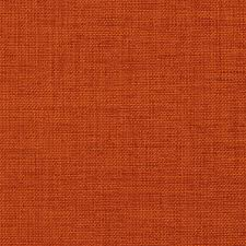 Dark Orange Solid Textured Indoor Upholstery Fabric By The Yard