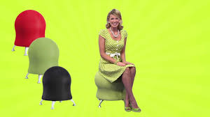 Gaiam Balance Ball Chair Replacement Ball by Safco Zenergy Ball Youtube