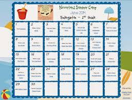 Free Neverland Summer Camp Activity Calendar