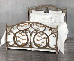 Wesley Allen King Size Headboards by Wesley Allen Laurel Iron Bed Queen Iron Beds Free Shipping