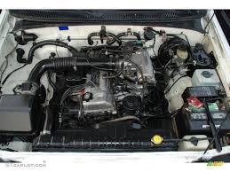 1996 Toyota T100 Truck Regular Cab 2.7 Liter DOHC 16-Valve 4 ...