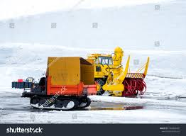 Snow Removal Truck Japan Two Trucks Stock Photo (Edit Now ...