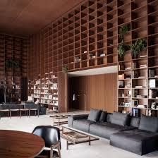 100 Apartment In Sao Paulo Studio MK27 Creates Giant Shelving Units In So Penthouse