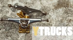 YTRUCKS Fingerboard Trucks - X5 34mm Chrome/gold - Product Blog ...