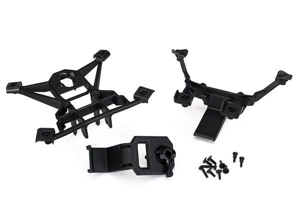 Traxxas 7715 X-Maxx RC Vehicle Front and Rear Body Mounts