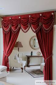 Kitchen Valance Curtain Ideas by Curtains Red Kitchen Curtains And Valances Stunning Red Valance