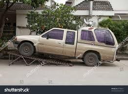 BANGKOK OCT 30 Van Elevated On Stock Photo (Edit Now) 87709621 ...