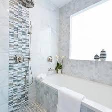 marble shower accent tiles design ideas