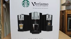 Starbucks Verismo Coffee Maker Review And Operation