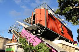 100 What Are Shipping Containers Made Of Venezuela Cultural Hub Apartment Therapy