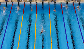 Katie Ledecky Leads The Field During Womens 800m Freestyle In Rio 2016 Summer Olympic Games USA TODAY Sports
