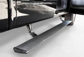100 Truck Running Boards AMP PowerStep Retractable 7613901A Logic