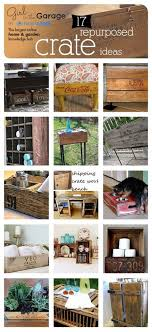 17 Repurposed Crate Ideas